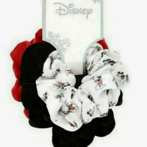 Disney Mickey Mouse hair scrunchies